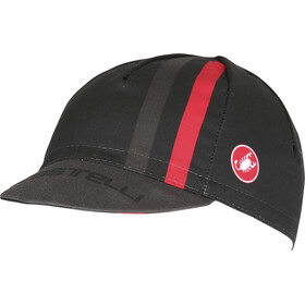 Castelli Podio Doppio Headwear red/black